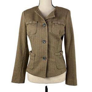 CAbi Penny Blazer Style 3170 Herringbone Size XS